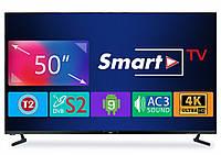 "Телевизор Dex LE5079USM (50"", 3840х2160, Smart TV, Wi-Fi, Android, DVB-T2/C/S2), фото 1"