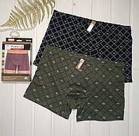 Мужские трусы боксерки хлопковые Fuko Ub за 2 шт в упаковке   Размер L