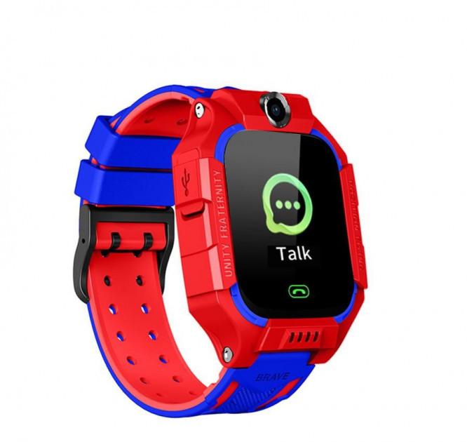 Детские умные часы Smart Baby Watch Q88 розумний годиник часы смарт красные