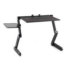 Эргономичный портативный столик трансформер для ноутбука Черный