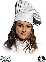 Высокая поваренная шапка LH-HATER 65% полиэстер / 35% хлопок LEBER&HOLLMAN