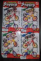 Набір 4 в 1 (2 пальчикових велосипеда + 2 фингерборда)