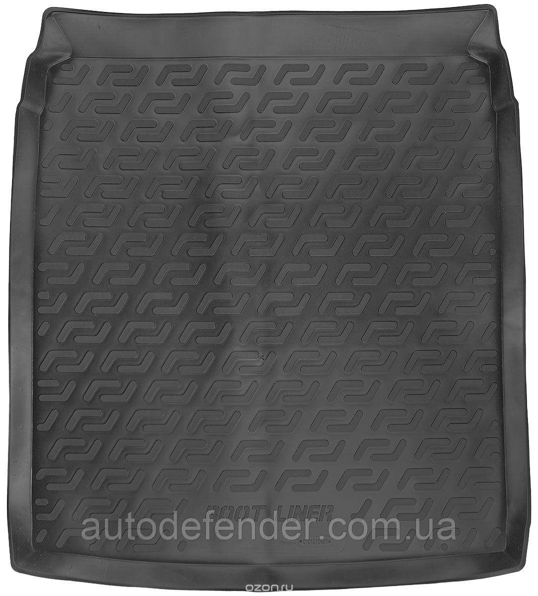 Килимок в багажник для Volkswagen Passat B7 2010-14 седан, резино/пластиковий (Lada Locker)