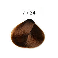Перманентная крем-краска для волос Alter Ego Techno Fruit Color, 100 мл 7/34 - Золотисто-медный блондин