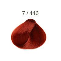 Перманентная крем-краска для волос Alter Ego Techno Fruit Color, 100 мл 7/446 - Махагон медный блондин