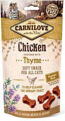 Лакомство для котов Carnilove Cat Semi Moist Snack Chicken with Thyme (курица/тимьян) 50 г