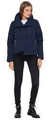 Осенне-весенняя куртка женская синяя модель 25062