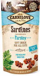 Лакомство для котов Carnilove Cat Semi Moist Snack Sardine with Parsley (сардина/петрушка) 50 г