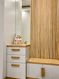 Декоративные деревянные рейки. Деревянные реечные панели. Реечные перегородки.