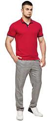 Чоловіча червона футболка поло модель 6584