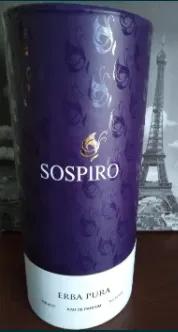 Sospiro Erba Pura, Erba Gold соспиро ерба Нішевий унісекс парфум