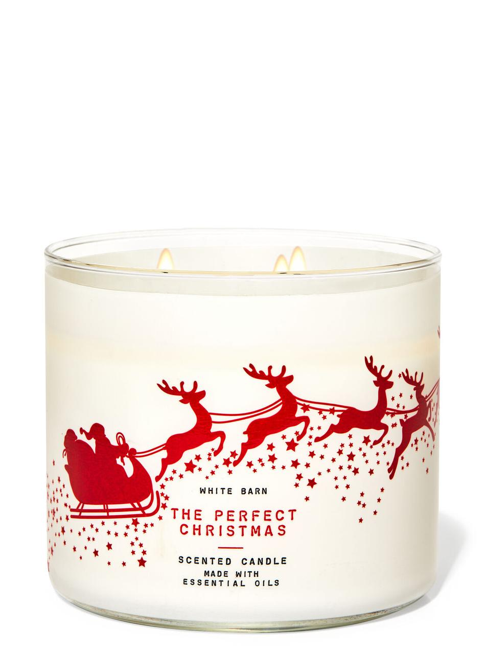 Свеча ароматизированная Bath and Body Works The Perfect Christmas Scented Candle 411 г