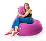 Кресло мешок груша микро-рогожка 100*140 см. разные цвета, фото 2