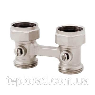 Н-образный запорный клапан нижнего подключения 3/4 ITAP прямой (3050034)