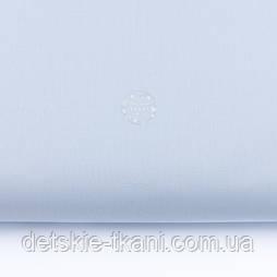 Однотонная бязь бледно-голубого цвета, №3221