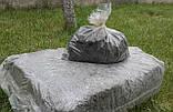 Грибной блок белого Шампиньона + компост + покровный грунт 60х40 см., фото 2