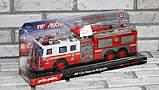 Машина пожежна FIRE RESCUE на радіокеруванні пускає воду, фото 2