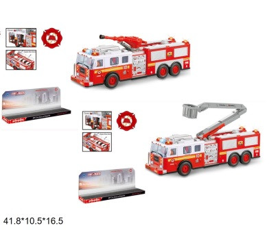 Машина пожежна FIRE RESCUE на радіокеруванні пускає воду