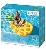 Надувний пліт-матрац Intex «Ананас» 58761 (216*124 см), фото 4