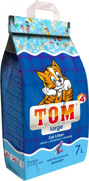Пісок Том №4 ВЕЛИКИЙ (2,5 - 6,0 мм) 5 кг з ароматом лаванди
