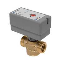 Переключающий 2-ходовой клапан Afriso AZV G 1 DN20 kvs 11 (с кабелем) н/з (1644300)