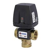 Переключающий 3-ходовой клапан ESBE VZC162 G 1 DN20 kvs 6 (без кабеля) (43060700)