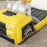 Детская надувная велюр-кровать Bestway Джип 67714, фото 5