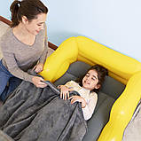 Детская надувная велюр-кровать Bestway Джип 67714, фото 6