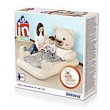 Детская надувная велюр-кровать Bestway Мишка Teddy 67712, фото 6