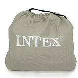 Велюр-кровать Intex 64143, двухместная, размер 203*152*25 см, фото 2