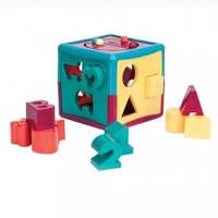 """Развивающая игрушка-сортер Battat """"Умный куб"""" (12 форм)"""