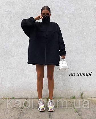 Худи-туника удлинённая /арт.531, фото 2