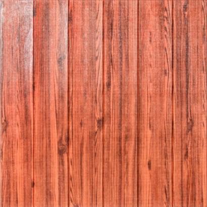 Мягкие 3D панели 700x700x7мм (самоклейка) Красное дерево