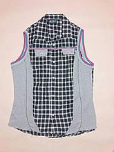 Рубашка мужская без рукавов Price р.M (48) Клетка