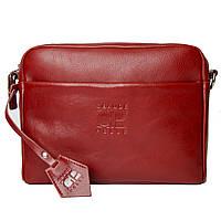 Жіноча сумка, червона глянець