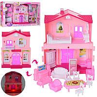 Домик 6663, кукольные домики,домик для кукол,мебель для куклы,куклы