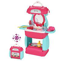 Трюмо 8258P (Бирюзовый), игрушки для девочек,игрушечный салон красоты,детское трюмо,трюмо для девочек