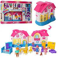 Домик 1203AB, кукольные домики,домик для кукол,мебель для куклы,куклы
