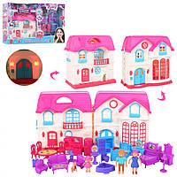 Домик 1201, кукольные домики,домик для кукол,мебель для куклы,куклы