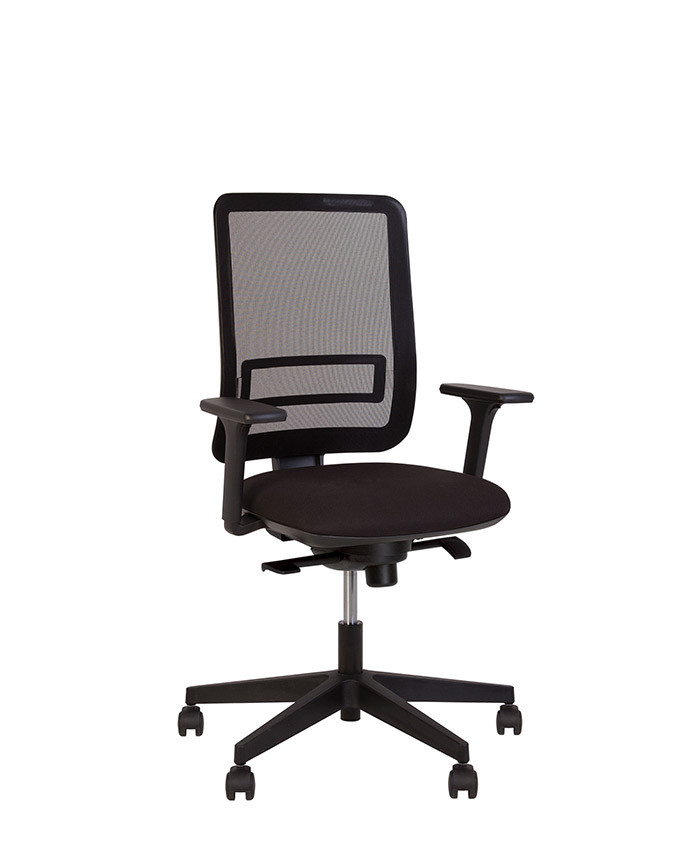 Smart (Смарт) net R black крісло комп'ютерне