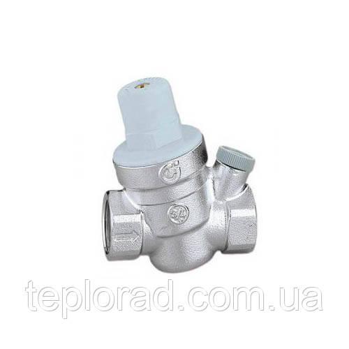 Редуктор зниження тиску пружинний Caleffi 1/2 40°C з підключенням манометра