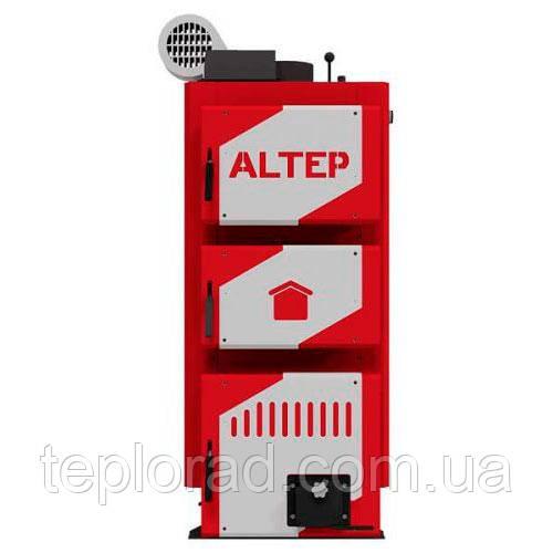 Твердотопливный котел Altep Classic Plus 24 кВт (с автоматикой и вентилятором)