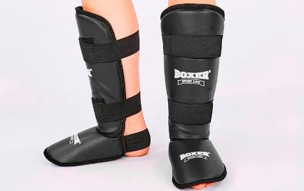 Защита голени и стопы кожвинил XL Boxer Sport Line