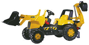 Екскаватор Rolly Toys rollyJunior JCB жовто-чорний