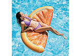 Пляжный надувной матрас - плот Intex 58763 Долька Апельсина, 178 х 85 см., фото 2