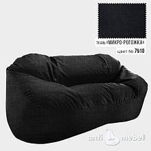 Бескаркасный диван из ткани Микро-рогожка 175*120*90 разные цвета