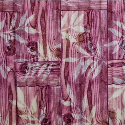 Мягкие 3D панели 700x700x8мм (самоклейка) Бамбук Розовый