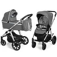 Коляска Baby Design BUENO 207 GRAY (без вышивки)