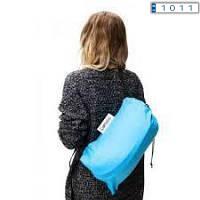Диван мешок надувной матрас Ламзак Lamzac Air Cushion Голубой