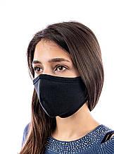 Набор защитных масок для взрослых 10 шт Черные